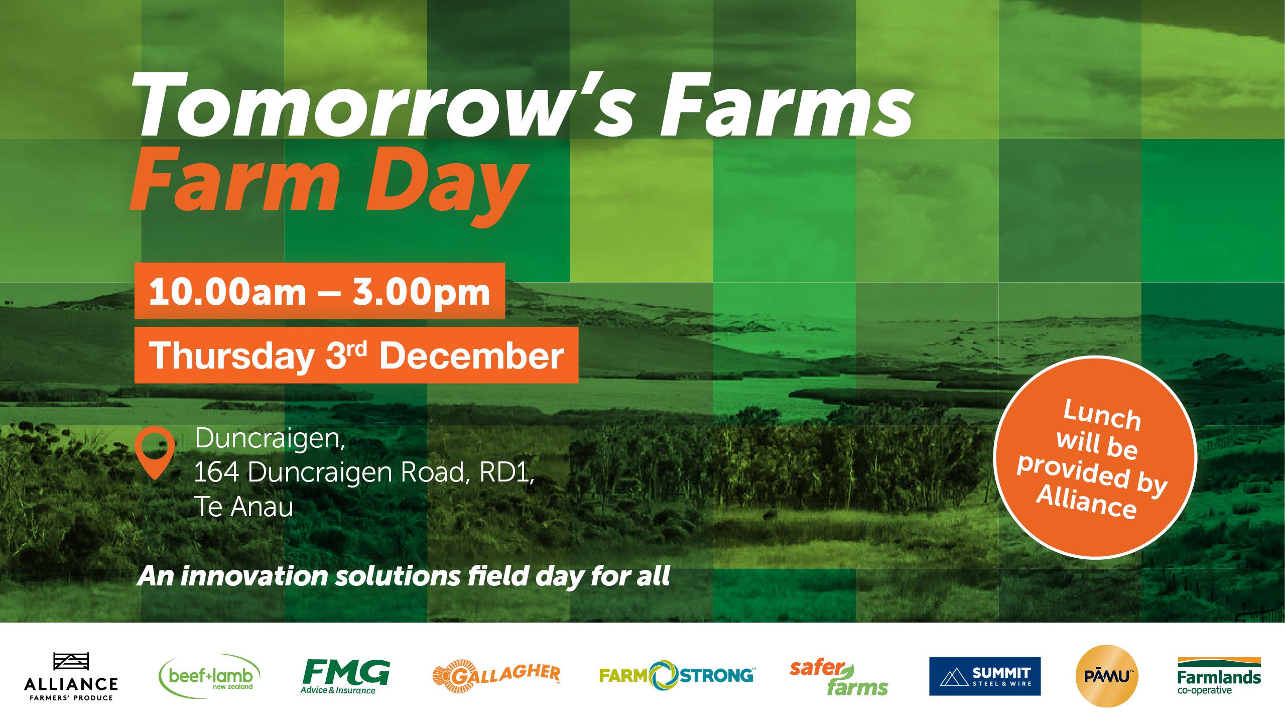 Open Day invites locals to Pamu's Duncraigen Farm in Te Anau