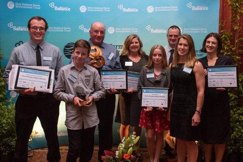 Kepler Farm wins Supreme Award at Southland Ballance Farm Environment Awards