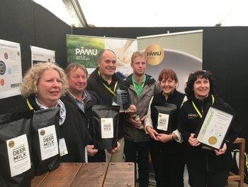 Pamu deer milk wins Innovation Award at Fieldays